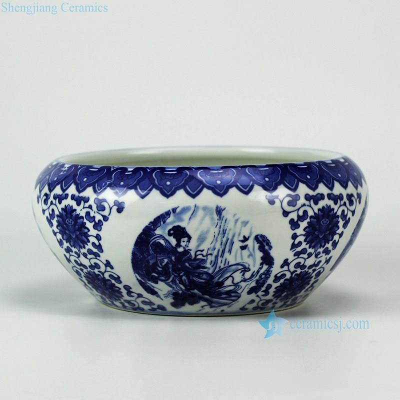 high quality blue and White Ceramic Bowl RYIQ25_3085